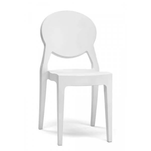 chaise design poly int rieure et ext rieure en polycarbonate plusieurs coloris disponibles. Black Bedroom Furniture Sets. Home Design Ideas