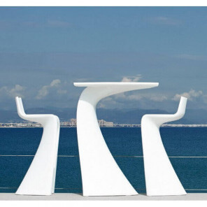 WING - Heigh dining set by Vondom