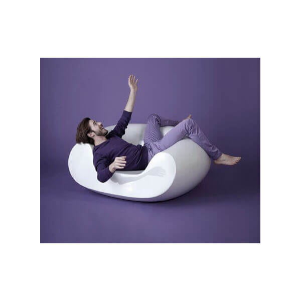 CHUBBY - Outdoor armchair by Slide