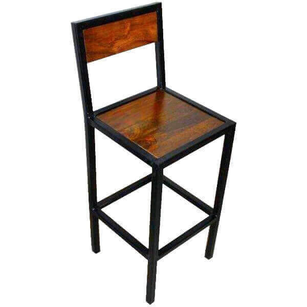tabouret de bar chaise haute factory. Black Bedroom Furniture Sets. Home Design Ideas