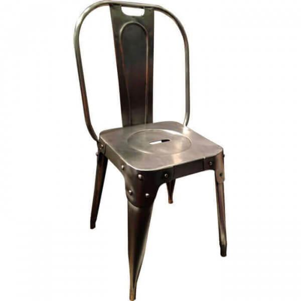 chaise entrepot - Chaise Acier