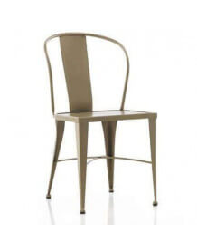 Coffee metal chair