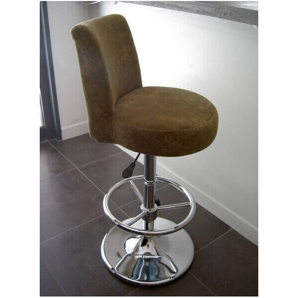 Tabouret de bar Confort velours 4526
