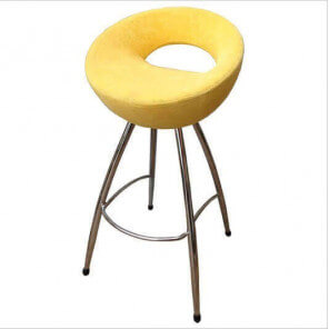 CERCLE - Modern and comfortable fabric / velvet stool