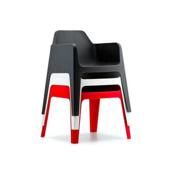 Pedrali Dining Chair Pedrali Stockable Chair