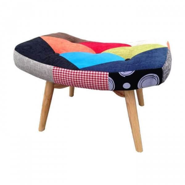 Footstool-Java-patchwork