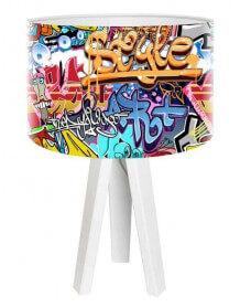 Lampe Graffiti