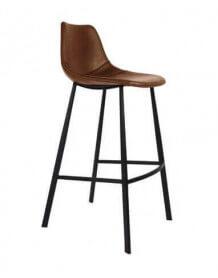 brown bar chair