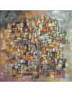 Peinture abstraite Labyrinthe