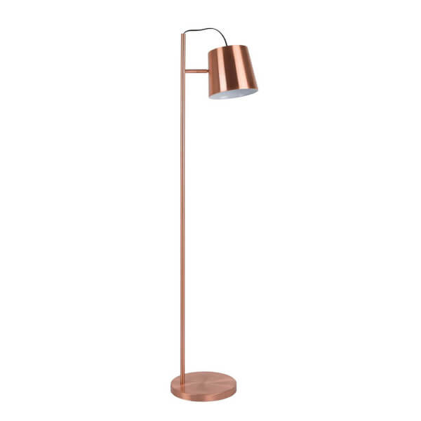 Copper floorlamp Zuiver