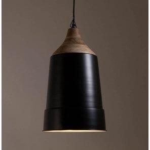 Lampe suspendue noire