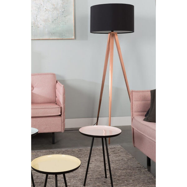 Zuiver Copper Tripod Floor Lamp