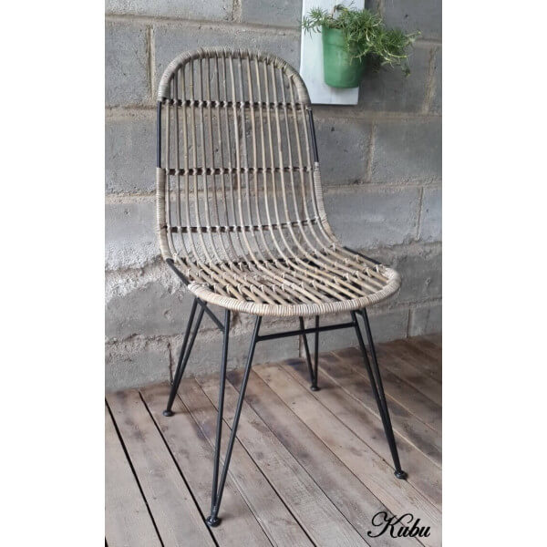 Kubu dining chair for Chaise kubu