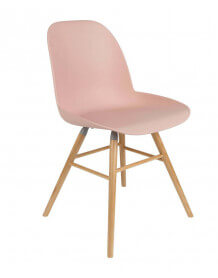 Chaise design Zuiver rose