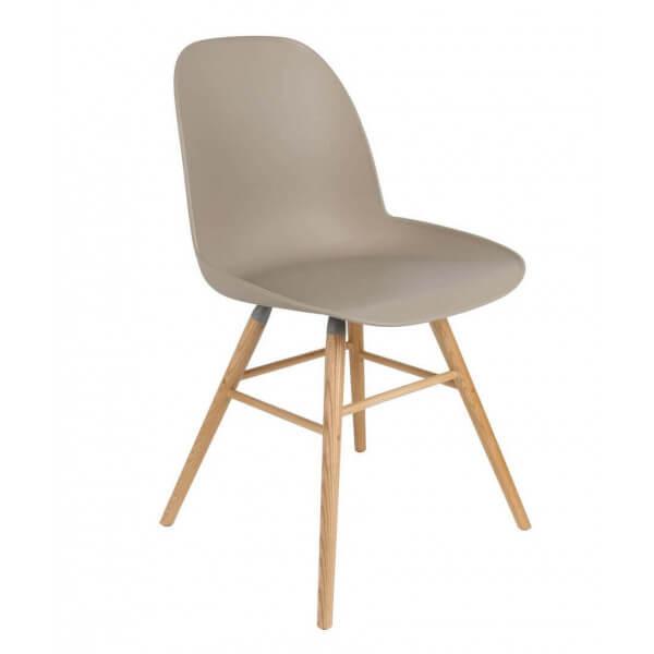 ALBERT KUIP Chaise design pieds bois