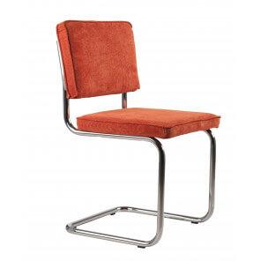 Orange Retro classic chair