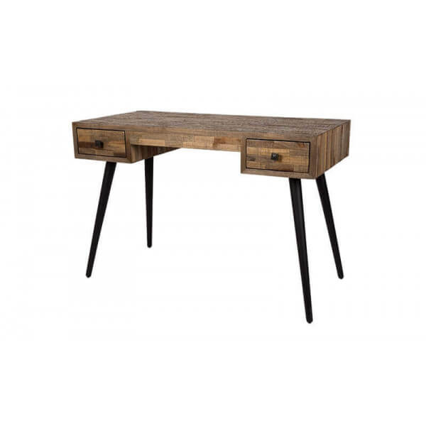 Hut vintage wood desk