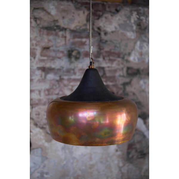 Suspension en metal cuivre - Suspension luminaire en cuivre ...