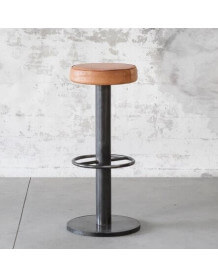 Tabouret de bar Steel cuir