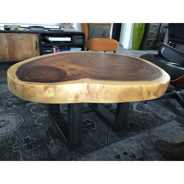 table basse bois massif. Black Bedroom Furniture Sets. Home Design Ideas