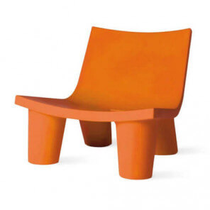 Fauteuil Slide Low Lita orange