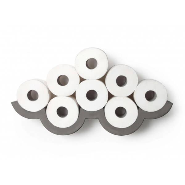 Porte rouleaux toilette b ton - Support papier toilette design ...