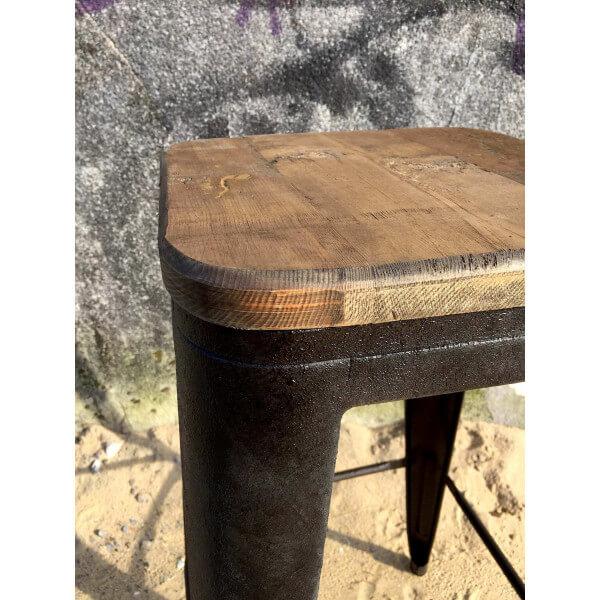 Loft bar stool in industrial style - Tabouret de bar loft ...