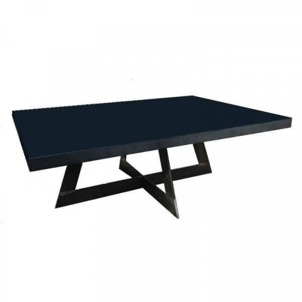 table basse acier cross 30 Incroyable Table Basse Acier Brossé Iqt4