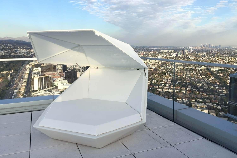 Lit Exterieur Design mobilier faz vondom