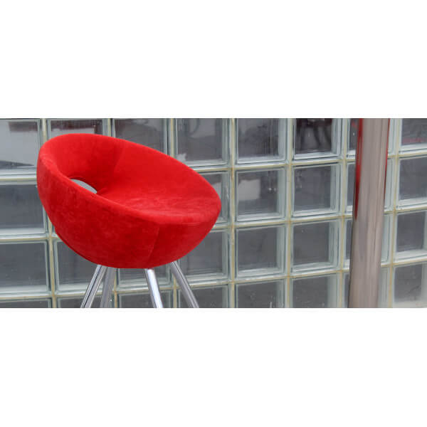 Tabouret de bar design cercle mathidesign vente mobilier decoration design tabouret pop sixties for Siege de bar design