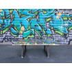 Graffiti low table