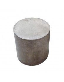 Tabouret ou table ronde en béton