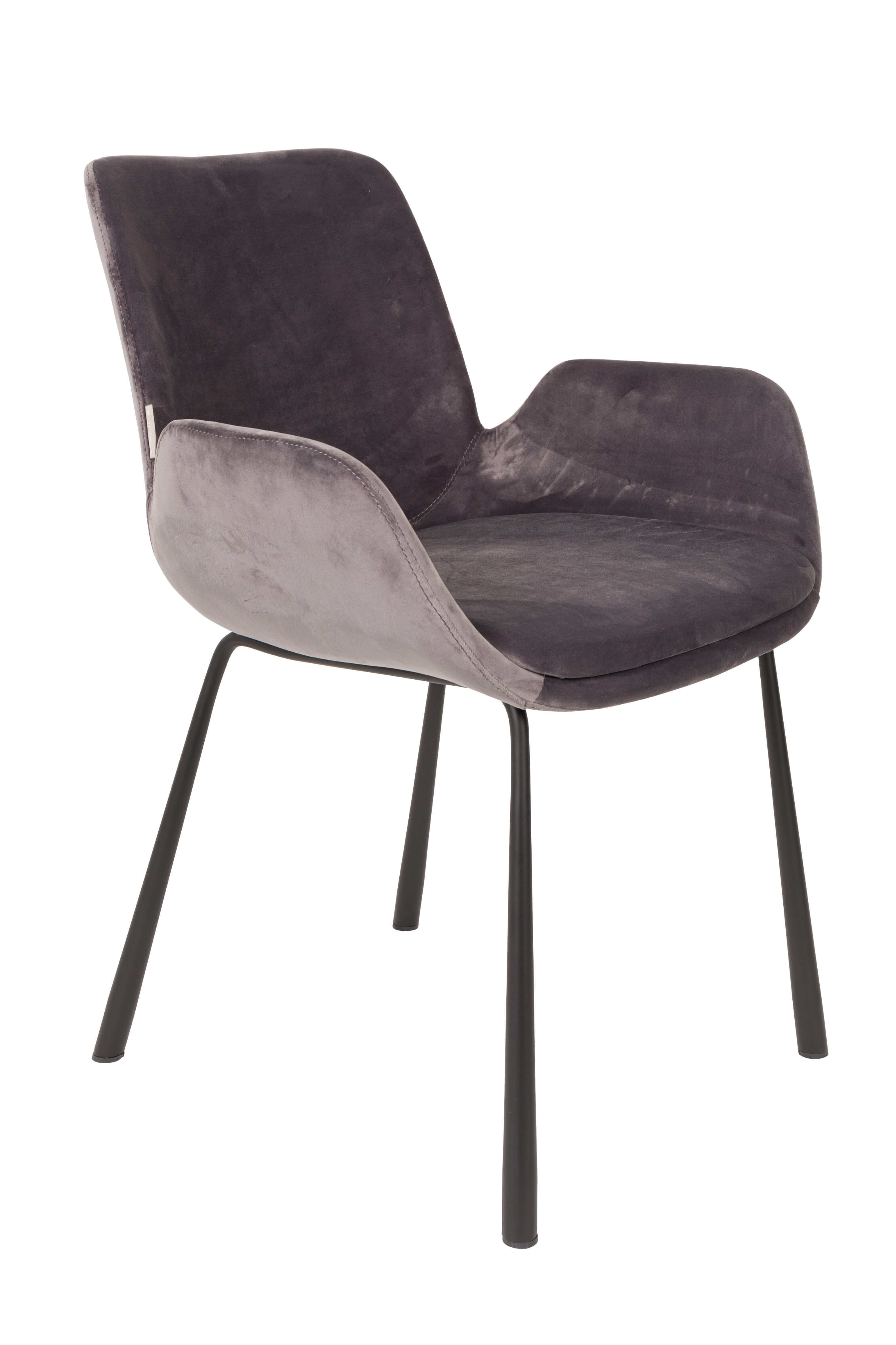 Velvet Dining Chair By Zuiver