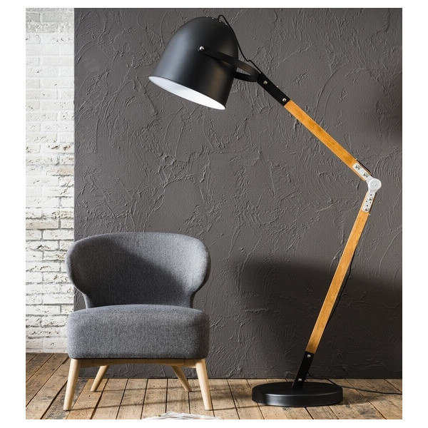 Reader big floor lamp