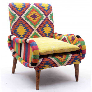 Kilim armchair Tircan