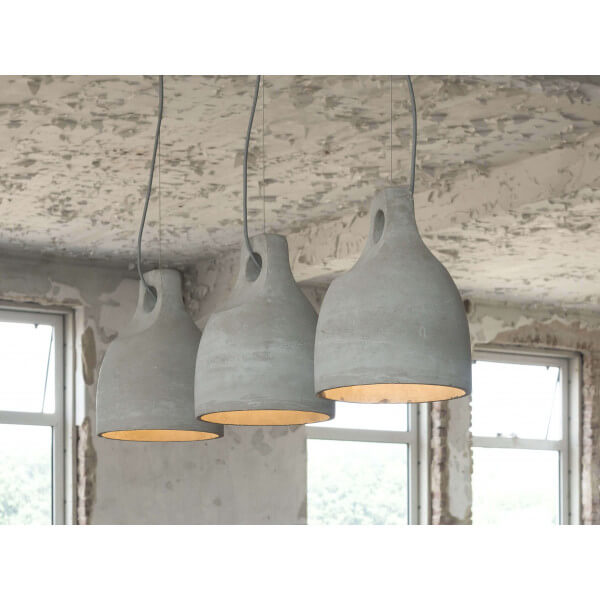 Design concrete pendant lamp