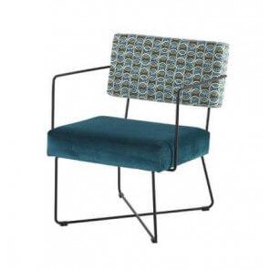 Blue Fifties armchair