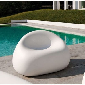 GUMBALL - Outdoor armchair