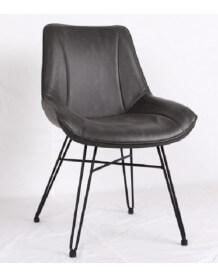 Chaise de repas noir Soho