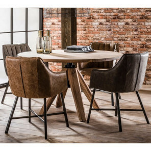 Table ronde architecte 120