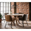 Table ronde bois 120