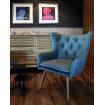 Solna Scandinavian armchair