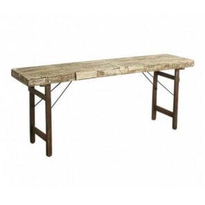 White Vintage side table