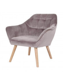 Sames light brown Armchair