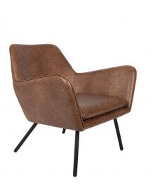 Brown Alabama lounge chair