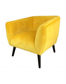 Yellow Lulea armchair