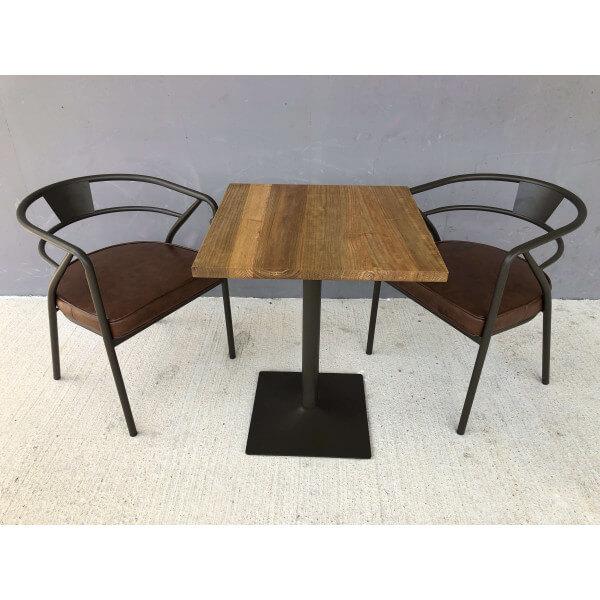 ensemble table chaise bistro