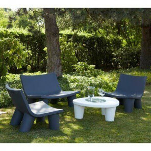 Slide garden furniture Large
