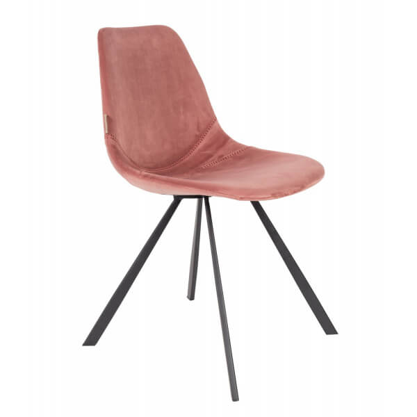 Pink Franky dining chair