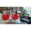2 Red Armchair Blos